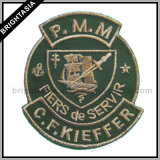 Iron-on Embroidery Patch for School Uniform (BYH-11068)