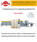 Electric Glass Lid Tempering Furnace Machine Glass Machine