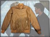 Men′s PU Jacket for Winter Wear