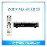 Zgemma-Star 2s Twin Satellite Tuner Enigma2 Linux OS Original Box