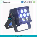 7*10W Full Rgbaw LED Stage Flat PAR Light for Indoor Disco