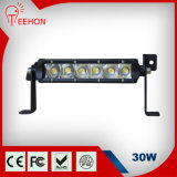 "5W CREE LED Chips IP68 30W 6"" LED Light Bar"