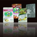 Plastic De-Metallised Food Packaging, Snacks Food Bag