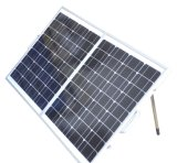 Portable Solar Panel System 80W for Camping with Motor Home