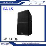 Superior Quality (EA 15) Single 15 Inch Audio Equipment Loudspeaker Professional Speaker