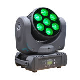 7*15W RGBW 4in1 LED Beam Moving Head Light for Concert