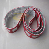 Red Cloth Timing Belt with Punching
