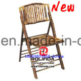 Sale Hotel Banquet Restaurant Wood Bamoo Folding Chair