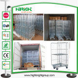 Heavy Duty Metal Mesh Warehouse Storage Container