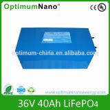 36V 40ah Lithium Power Bank for Solar Power