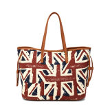 Retro Style British Flag Pattern Tote Bag (MBNO040019)