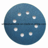 Blue Zirconia Sanding Disc with Magic Tape