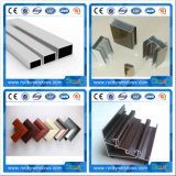 OEM /ODM Iron Grey Anodized Aluminum Extrusion Profile Accessory for Door and Window Frame