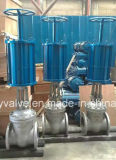 JIS/API/GOST Double Action Pneumatic Gate Valve