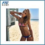 Bikini Swimwear Pink Strapless Push up Beachwear