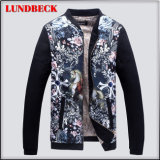 Polyester Jacket for Men in Leisure Style