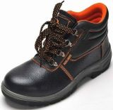 Safety Shoes with Steel Toe and Steel Plate PU Outsole