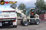 Wolf Mini Wheel Loader Zl08, Radlader, Small Wheel Loader for Sale