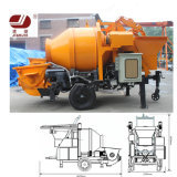 Electric/Diesel Jbt30 30m3/H Concrete Pump with Mixer