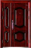 Exterior Entrance Steel Door, MDF Door