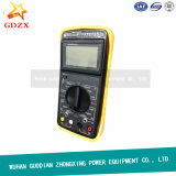 Double Clamp Digital Phase Meter Volt-Ampere Meter