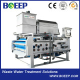 Integrated Belt Filter Press-Thickening-Dewatering for Wastewater Treatment
