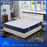 OEM Resilient Pillow Top Mattress 26cm High with Relaxing Pocket Spring and Massage Wave Foam Layer