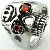 316L Stainless Steel Biker Ring Jewelry
