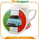 Customer Desig Hot Sale Soft PVC Cup Coaster