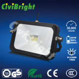 Energy Saving Slim Pad LED Floodlight of Cool White