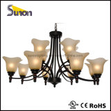 Large Foyer or Entryway Wrought Iron Chandelier
