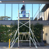 Mobile Tower System Double Width Aluminum Scaffold