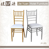 Fixed Soft Seat Metal Wedding Events Tiffany Chiavari Chair (JY-J05)