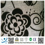 100% Polyester Material and Flocked Pattern Sofa Fabric