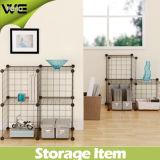 Living Room Modular Steel Wire Metal Storage Units Rack