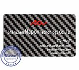 2017 New Design Real Carbon Fiber Business Name Card with Personalized Custom