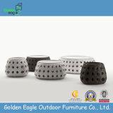 Stylish Flat Rattan Round Coffee Table (GP0003)