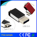 High Speed Type-C OTG USB Flash Drive with Free Sample