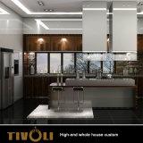 Modern Wholesale White Wood Villa Whole Home Kitchen Furniture Tivo-0082VW