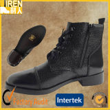 2017 New Design Full Genuine Leather Military Police Office Shoes