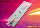 5 Years Warranty All in One LED Solar Street Light 80W with 18V 150W Solar Panel