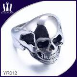 Yr012 Hot Sale 316L Titanium Skull Ring for Men