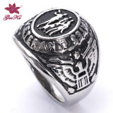 Custom Made Cheap Wholesale Design Jewelry Finger Ring (Gus-STFR-008)