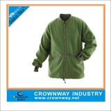 Green Polar Fashion Sport Fleece Jacket for Men