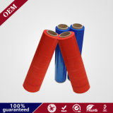 Red and Blue Colour LDPE Wrap Stretch Film with High Puncture Resistanc