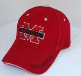 Big Red 3D Logo Embroidery Fashion Baseball Sports Caps