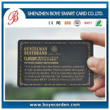 Fantastic Design Gold Stamp Plastic Card with Discount