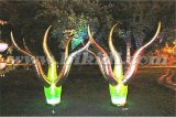LED Colorful Inflatable Tree Shape Balloon for Outdoor Decoration C3010