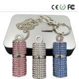Jewelry Diamond Material Crystal USB Flash Drive OEM