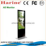 55′′ Free Standing HD Touch Screen Ad Monitor